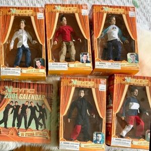 Nsync dolls puppets marionettes complete vintage